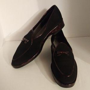 Stuart Weitzman Black Flats Size 8.5